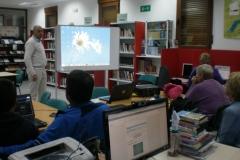 Curso impartido por Adolfo Bodoque en la biblioteca