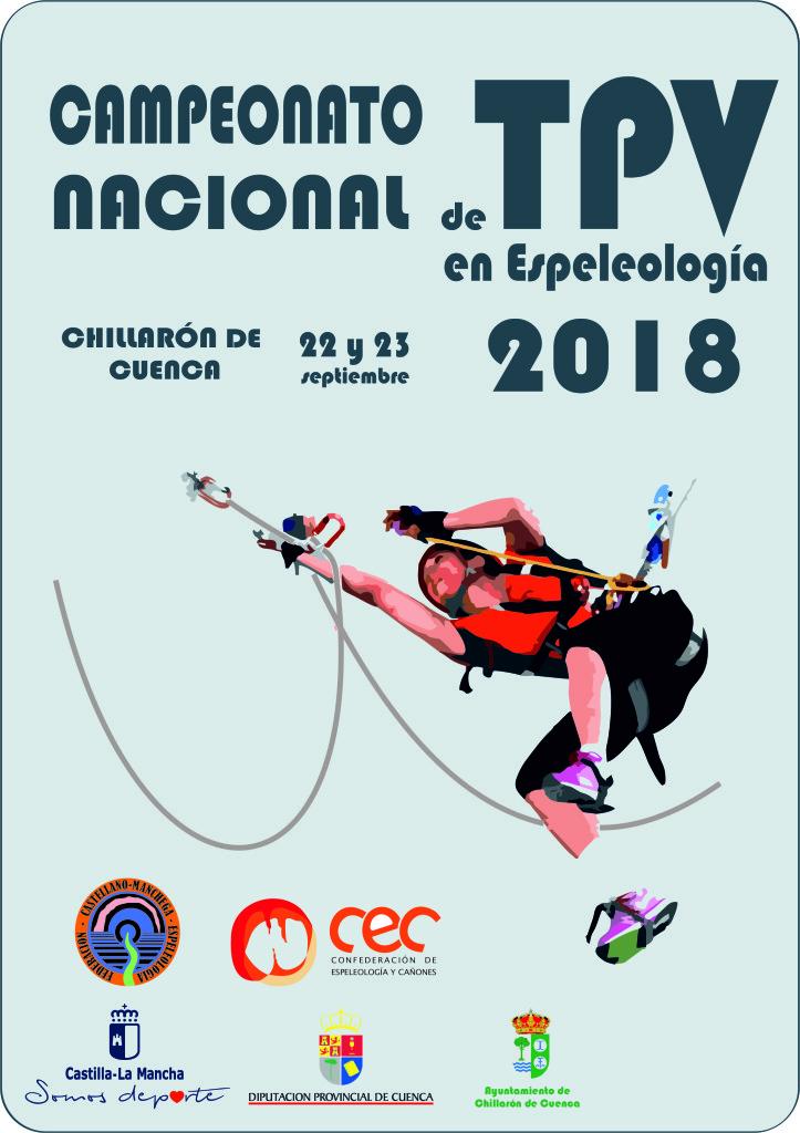 Espeleología campeonato 2018 Chillarón de Cuenca